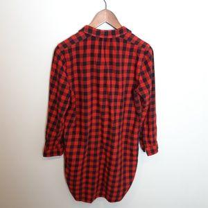 Madewell Dresses - Madewell | Buffalo Plaid Shirt Dress